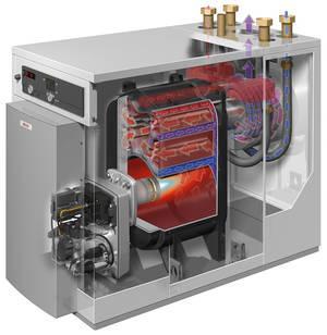 Chaudiere condensation mazout