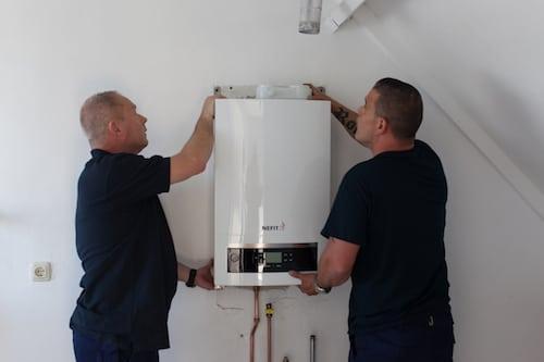Installation chaudiere condensation