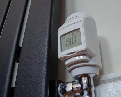 Vanne radiateur reglable